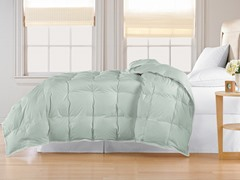 240TC Down Comforter-Seaglass-2 Sizes