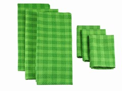 Heavyweight Dishtowel Set-Grass Green