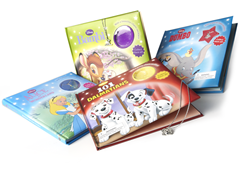 Disney Charm Book 4 Pack Bundle