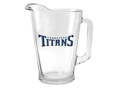 Titans Glass Pitcher