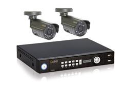 4CH 320GB DVR Sys w/ 2 Weatherproof Cams