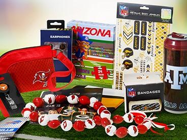 NFL & NCAA Goodie Bags