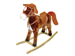 Hercules Horse Rocker with Moving Mouth