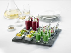 25-Piece Tasting Set with Lava Tray