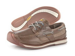 KEEN Mens Newport Boat Shoe-Brindle(7.5)