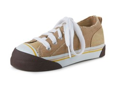 Umi Keplar Canvas Shoe - Tan (1-2 Kids)