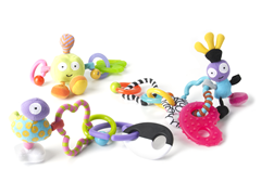 Linko, Clip Together Teether & Toys