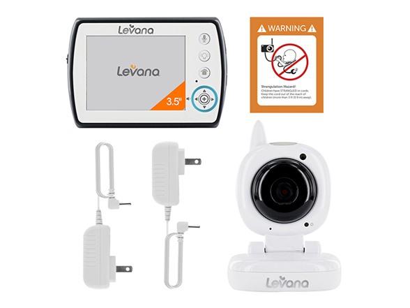 levana ayden 3 5 digital baby video monitor kids toys. Black Bedroom Furniture Sets. Home Design Ideas
