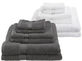 Pinzon Egyptian Cotton 725GSM 6Pc Towels-7 Colors