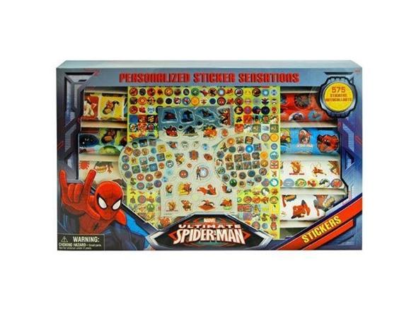 Spiderman Sticker Sensations in Window Box TY17685A