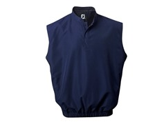 FootJoy Mens Windshirt Vest - Navy (Med)