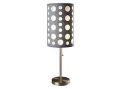 "33"" Grey-White Table Lamp"