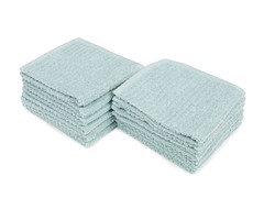 Stratford Quick Dry 12-Pack Wash Cloths- 2 Colors