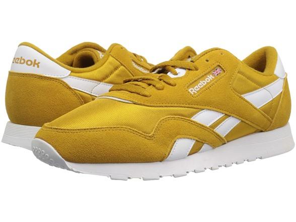Reebok Men s Classic Nylon Sneaker e4a2e7a85