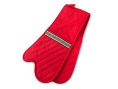 Pro Series Double Oven Mitt - Red