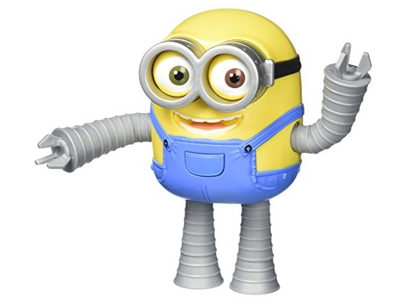 Despicable Me Robot Minion Bob Action Figure 19304988-b6d9-44ef-8e26-b6fd555d4137