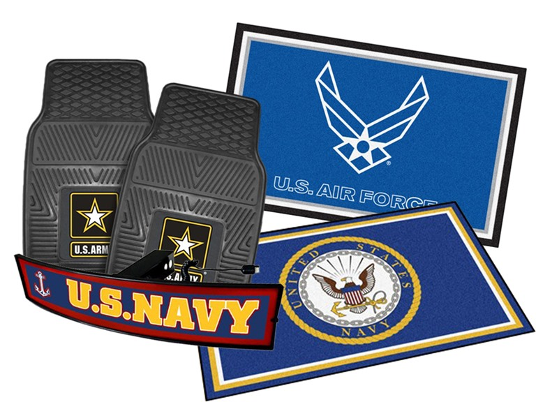 Fanmats Armed Forces Collection