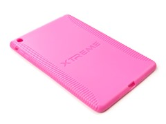 Pink Durable Soft Gel Case for iPad mini