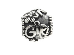 Sterling Silver Bead Girl