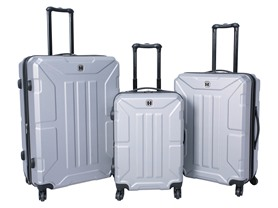 Travel Hard Wear Matrix 3Pc Hardside Set - Cool Gray