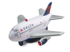 Delta Airlines Pullback Plane