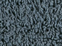 Reversible Cotton Rug -Smoke