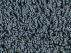 Reversible Cotton Rug -Smoke