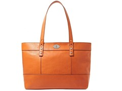 Fossil Hunter Shopper Tote, Light Orange