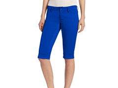 YMI Juniors Colored Capri, Blue