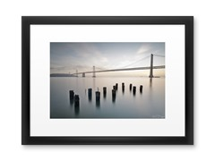 San Francisco: Bay Bridge Dawn (2 Sizes)