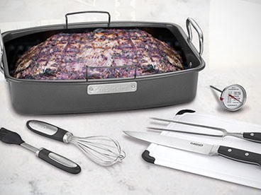 Cuisinart Roaster With Other Essential Tools