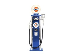 Gulf Oil Gas Pump Replica