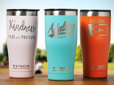Limited Edition: 20oz Travel Tumblers!
