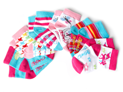 Zutano 6pk Infant Socks