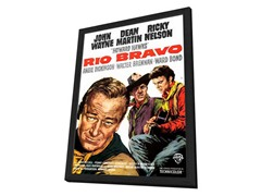 Rio Bravo Framed Movie Poster