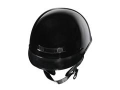 GLX Gloss Black Half Helmet