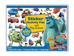 Disney Pixar Sticker Activity Pad with Play Scenes