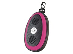 GPX Portable Speaker Pouch - Pink