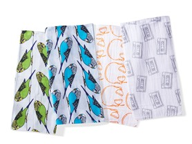 Oliver + Kit Muslin Swaddle Duos - Choose Style