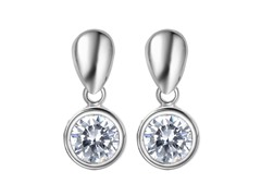 Mestige Dazzling Drop Earrings