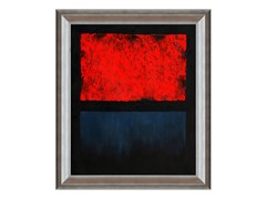 Rothko - Untitled (Red, Blue over Black)