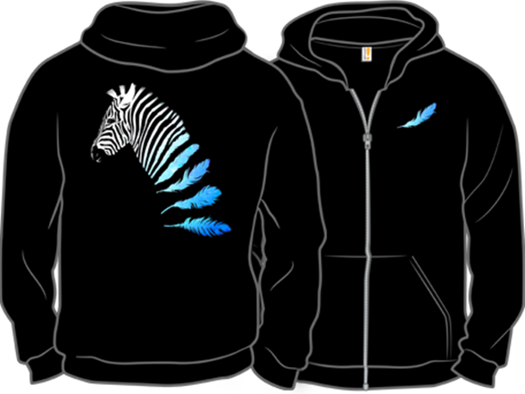lost in transition zipup hoodie