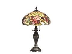 16 X 24 Peony Table Lamp w/Jewels