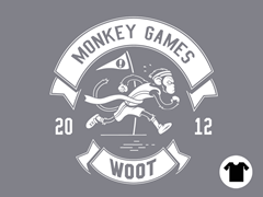 2012 Woot Monkey Games - Slate
