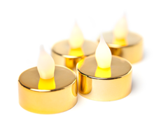 Westinghouse 16-Pc Gold LED Tealights