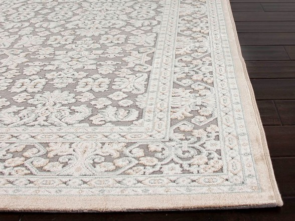Lacie In Sand Rayon And Chenille Area Rug