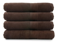 MicroCotton 4pc Bath Towel Set-7 Colors