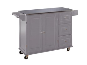 Three Drawer Kitchen Cart