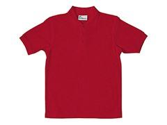 Boys Pique Polo - Red (Sizes XS-L)