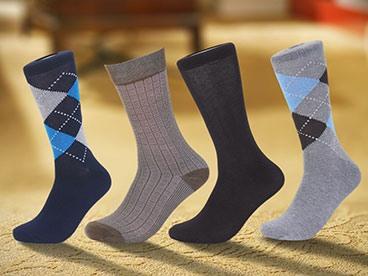 Focus Men's 30-Pack Dress Socks
